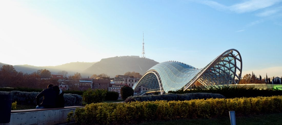 tbilisi top 10 peace bridge Georgia 4 Day Tour