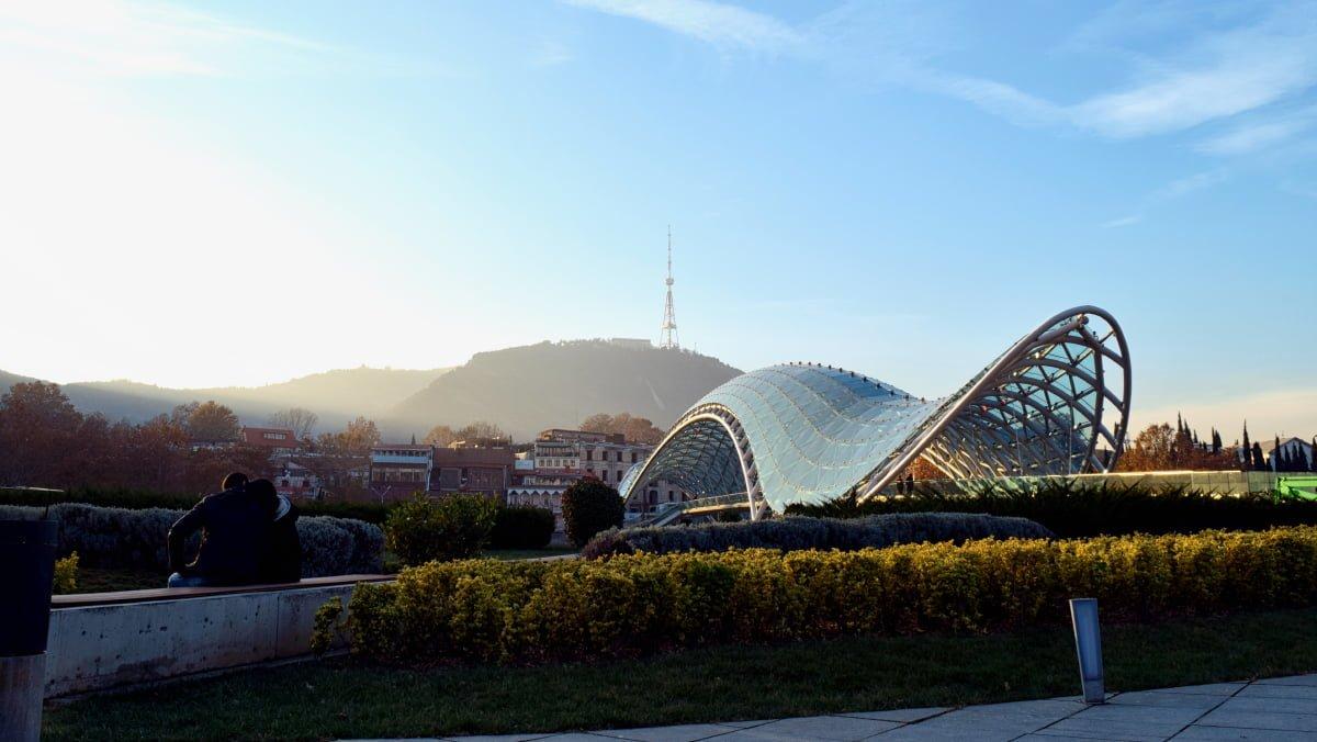 tbilisi top 10 peace bridge Georgia 4 Day Tour