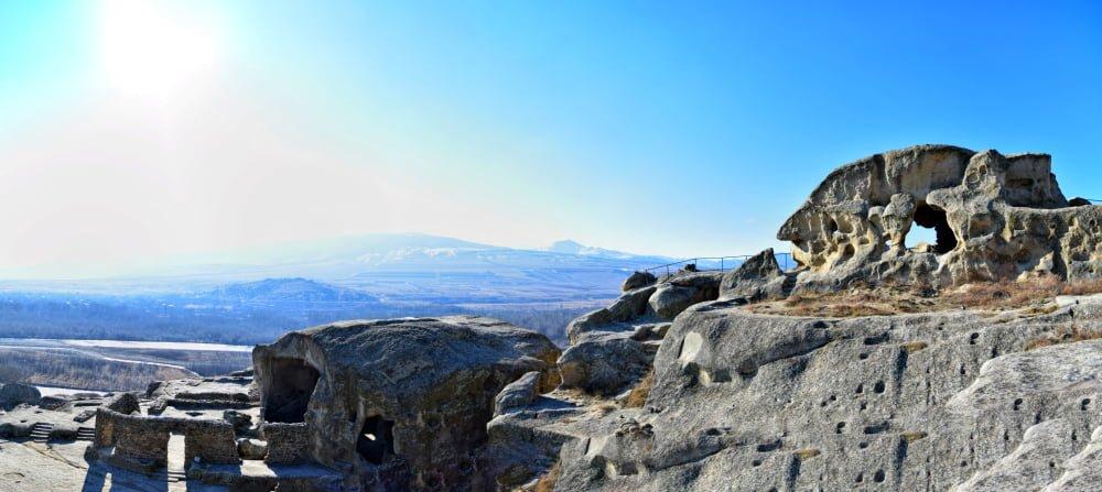 Mtskheta Gori Uplistsikhe Tour Panorama of Uplistsikhe
