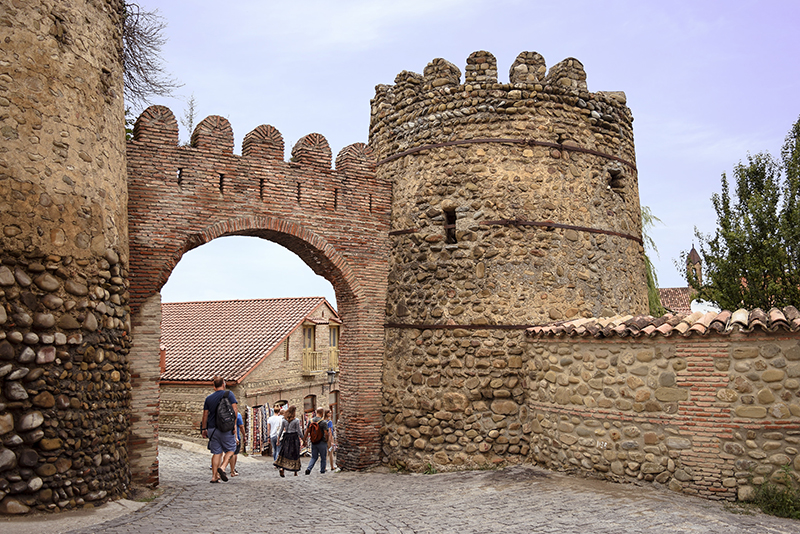 Sighnaghi city wall fortress