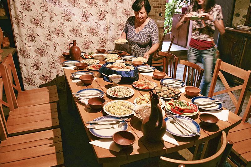 kakhetian lunch