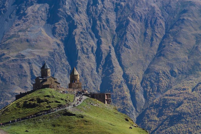 Gergeti Monastery