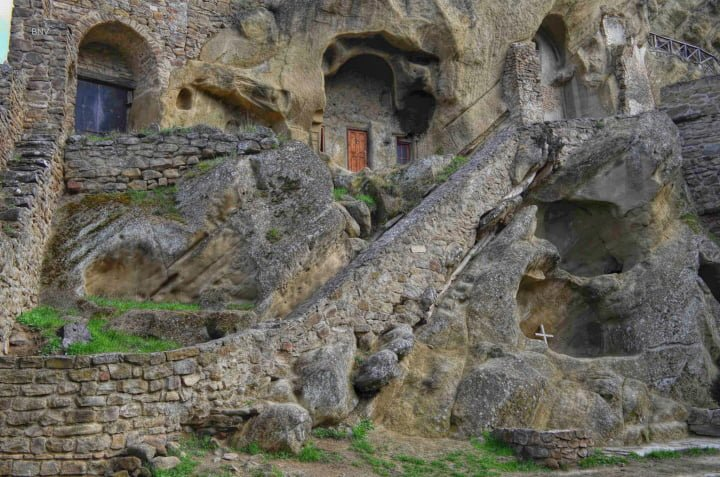 Monk Caves in Davit Gareja