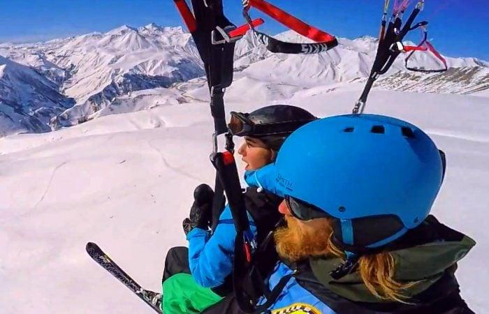 Gudauri Paragliding tandem flight
