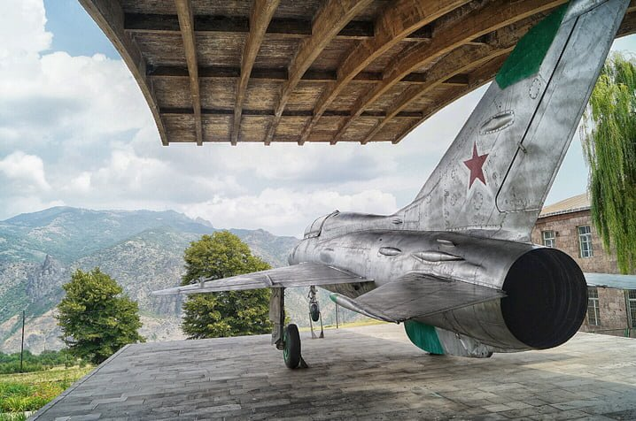 Mig-21 in Mikoyan Museum in village Sanahin, Armenia