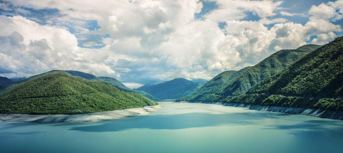 Zhinvali Lake Jinvali