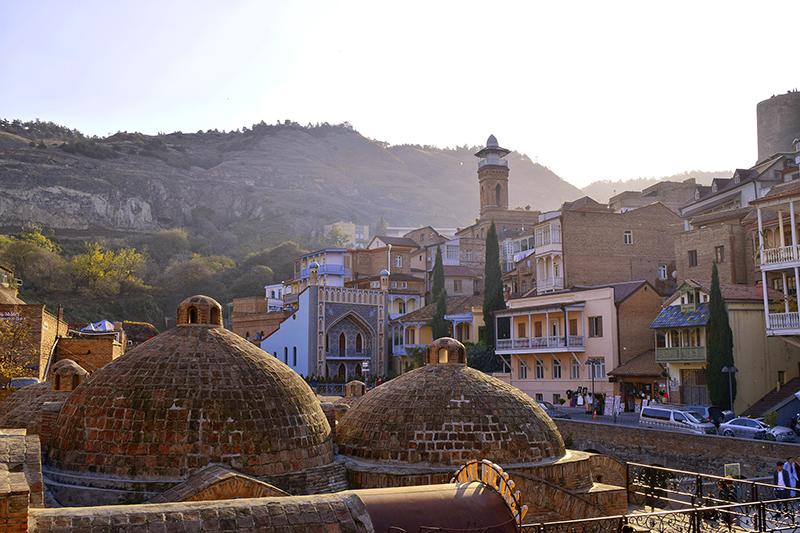 Tbilisi old town minareth