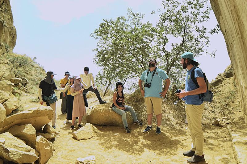 Guide in Davit Gareja