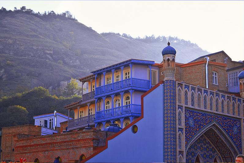 Colorful Baths Tbilisi