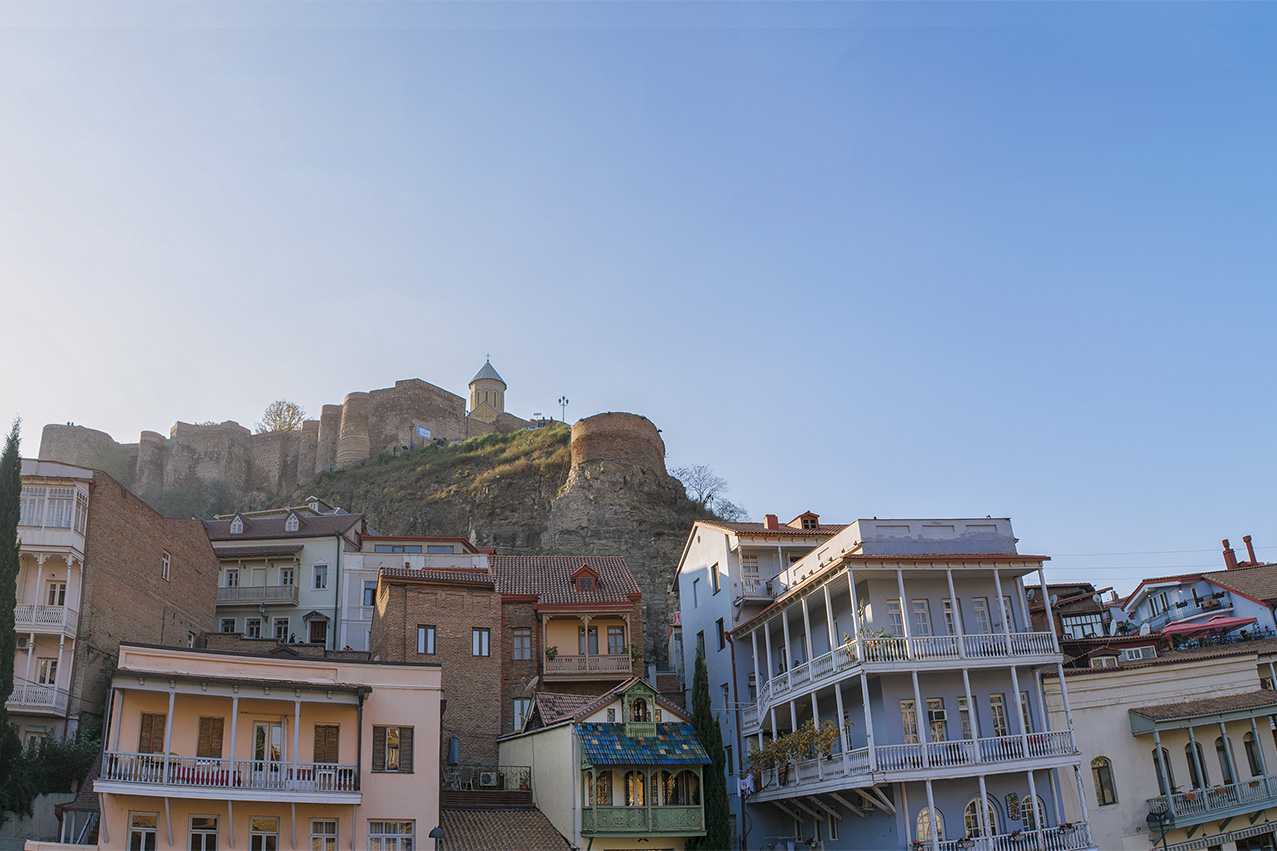 Balconies of Tbilisi old city