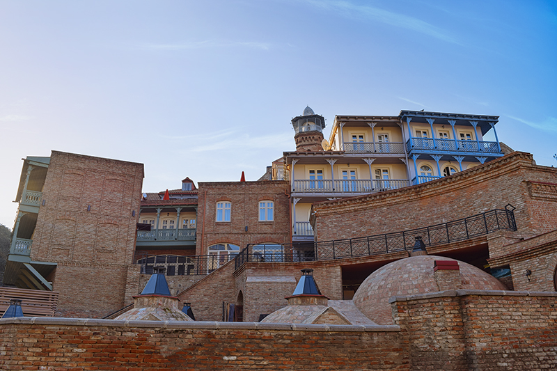 beatiful views in Tbilisi old town
