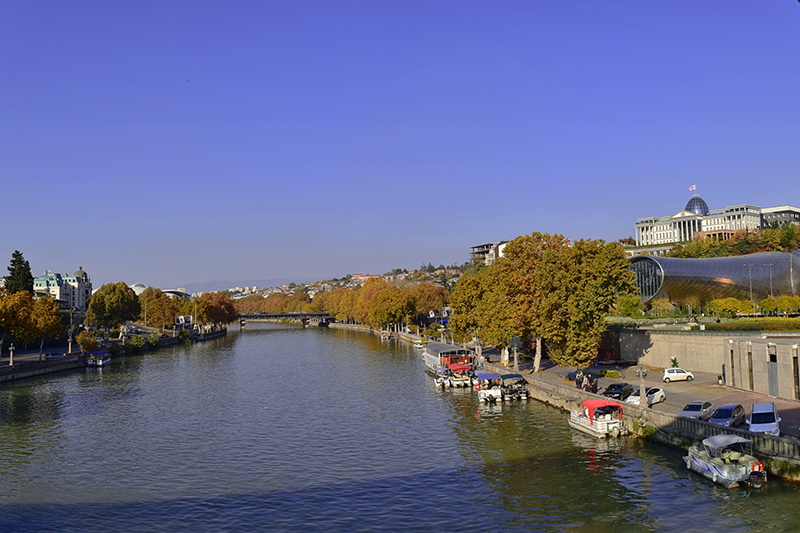 Mtkvari River Tbilisi