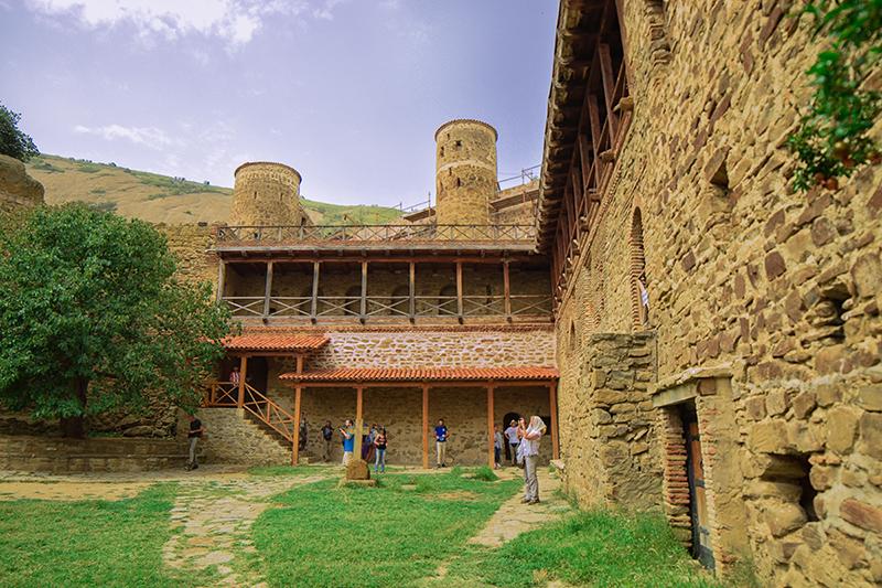 Lavra Monastery Yard