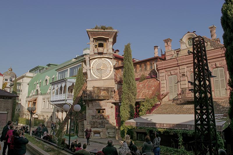 Gabriadze theatre and clocktower