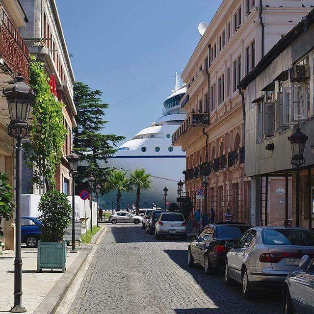 Cruise Ship in Batumi Port