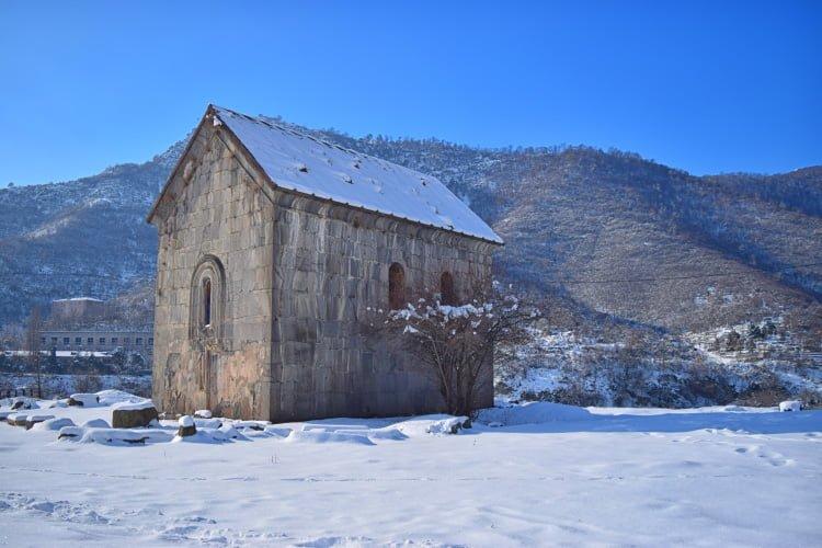 Akhtala Fortress Greek Church