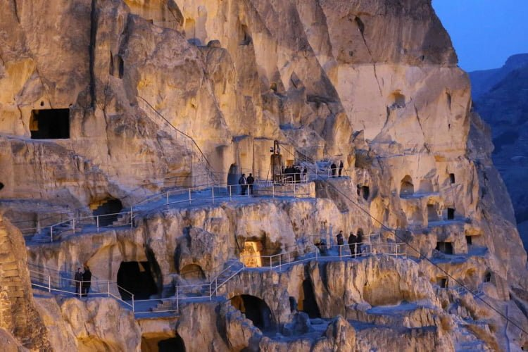Vardzia Cave City Georgia Tour