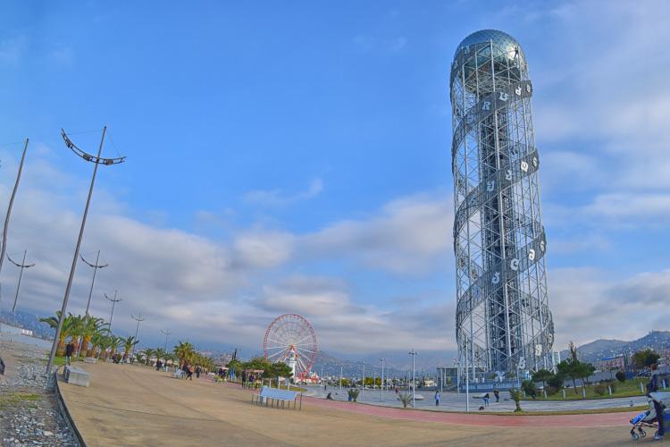 Alphabet Tower Batumi Adjaria Boulevard