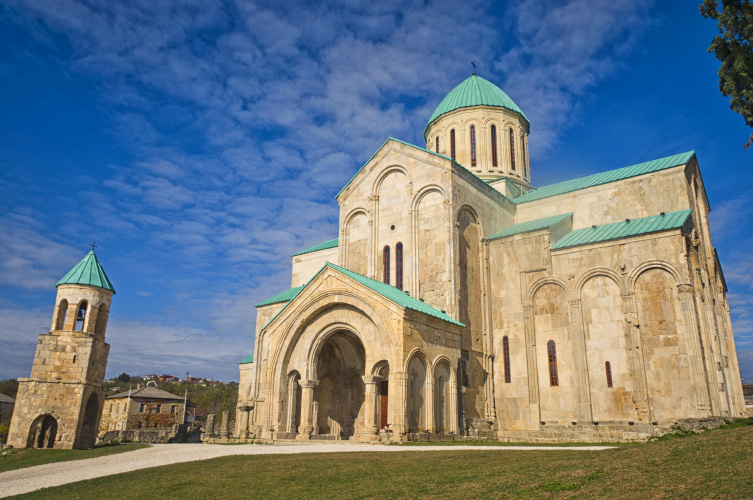 Tour to Kutaisi bagrati cathedral architecture sunny