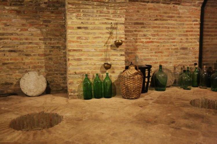 Chateau Mukhrani Cellar traditional wine making