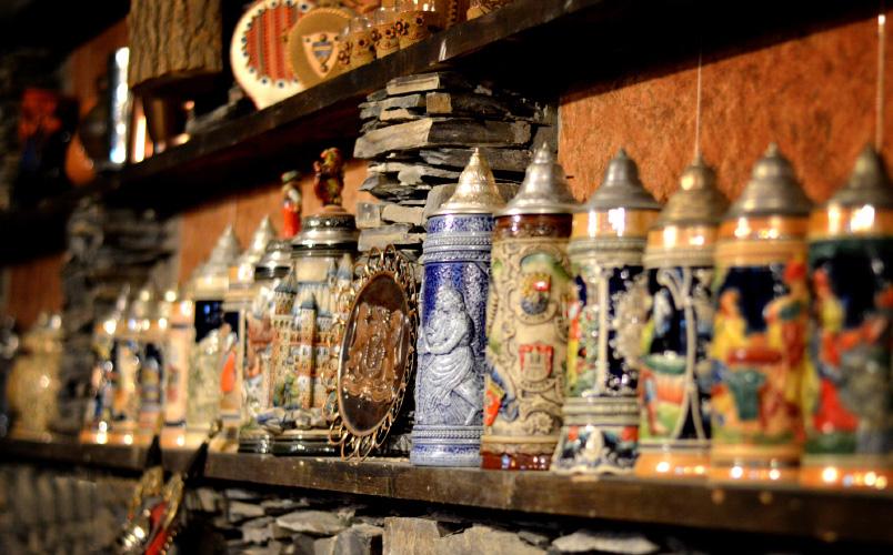 Merebashvili Wine Cellar Decorations