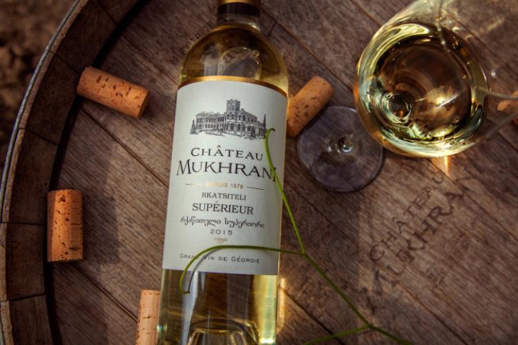 Chateau Mukhrani Wine Tasting premium georgian wines