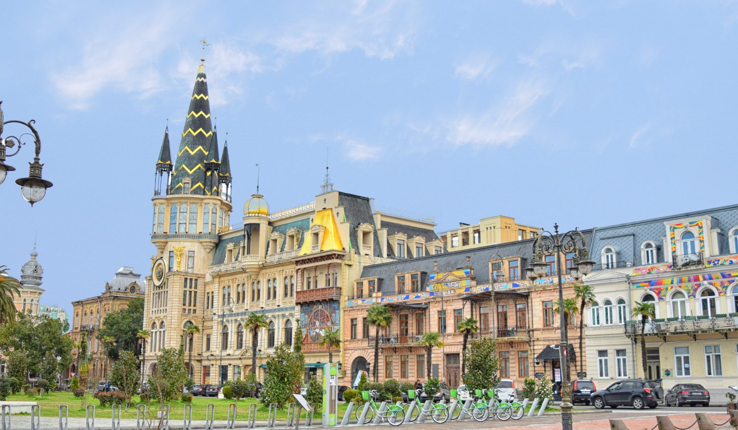 Discover Georgia 6 Day Tour Batumi City Clock Europe Square