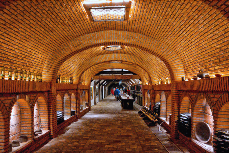 Khareba Wine Tunnel in Kvareli Kakheti Georgia