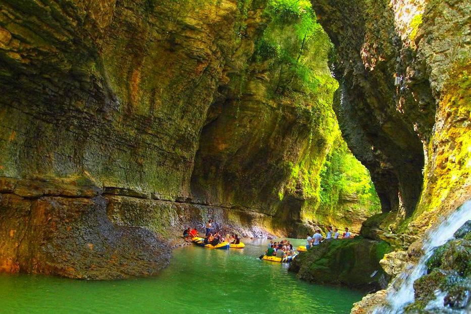Martvili Canyon Samegrelo Water Boating