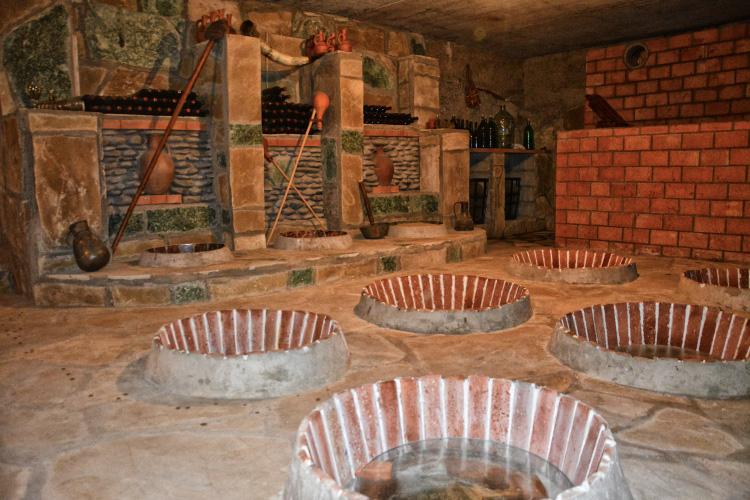 Merebashvili Winery Cellar Georgian Traditional