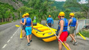 rafting in georgia men