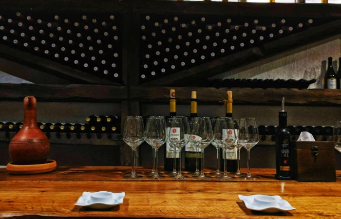 Khareba Winery wine-tasting premium wines