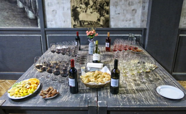 Wine Tour From Gudauri wine tastings in Chateau Mukhrani and snacks